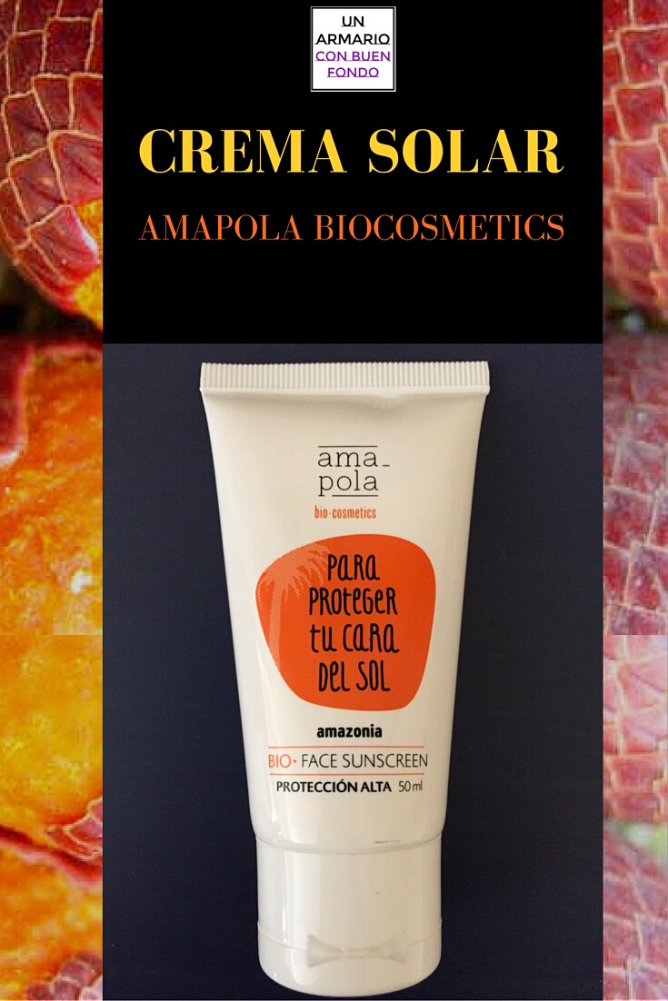 crema solar amapola biocosmetics