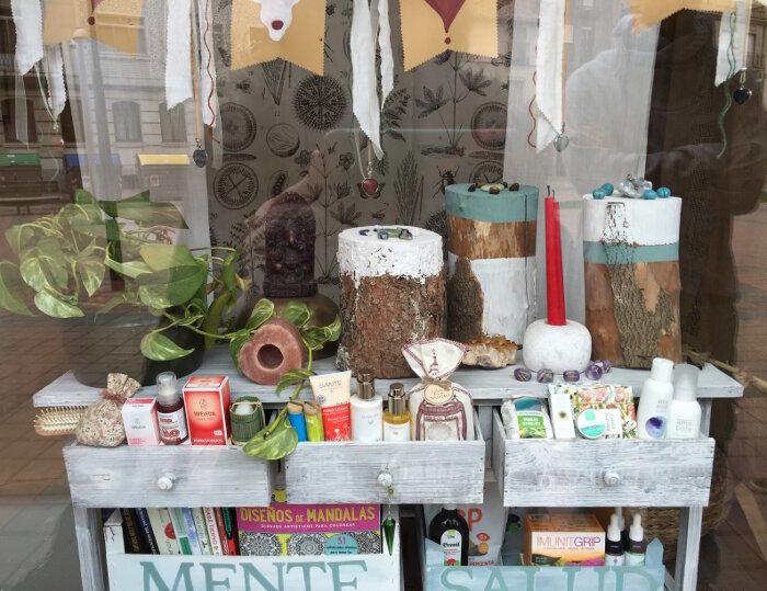 Protector labial de granada y oliva de Eco Cosmetics