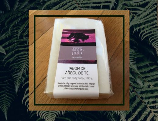 Jabón para cara y cuerpo de árbol de té
