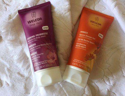 geles de ducha de Weleda