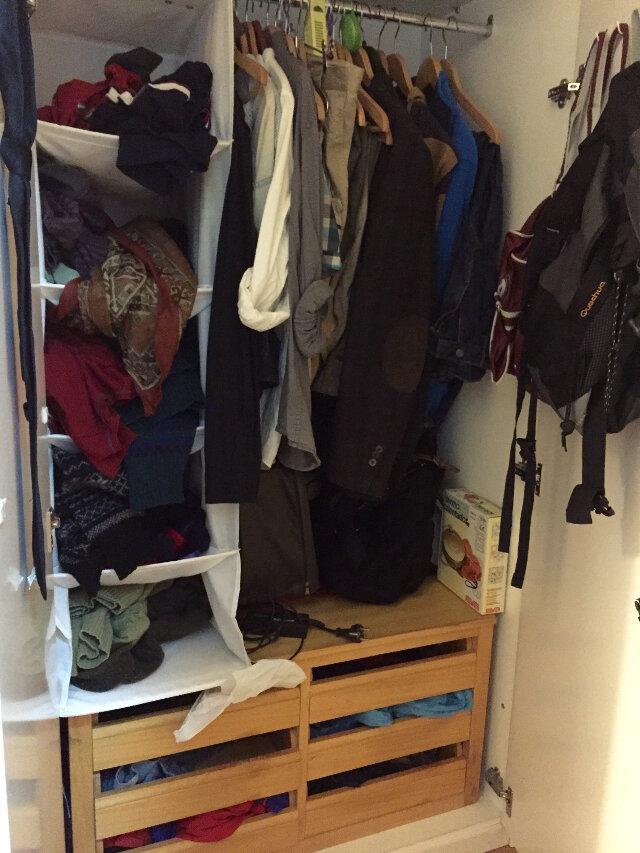El armario maire kondo de xavi - Marie kondo doblar ropa ...