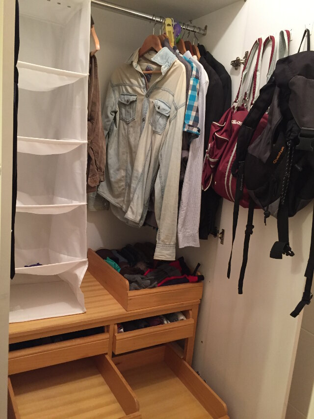 armario Marie Kondo