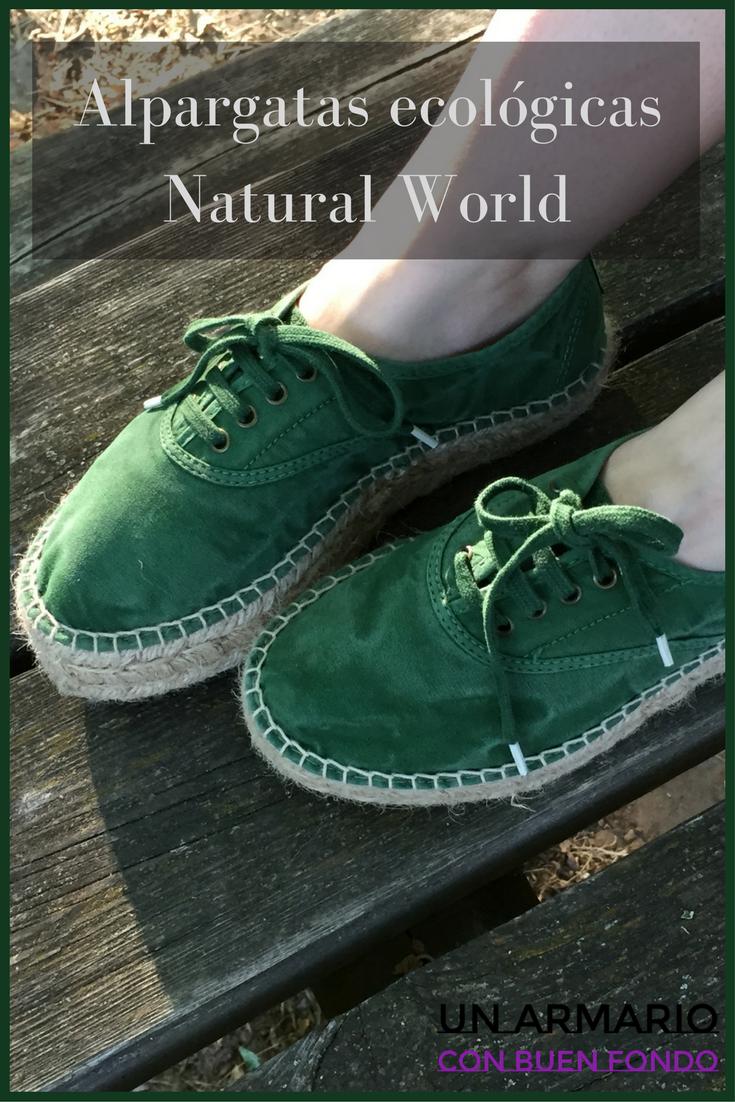 Alpargatas ecológicas Natural World