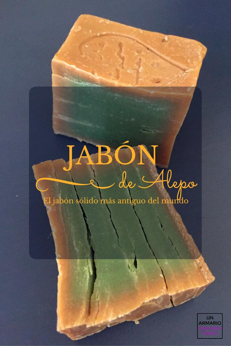 jabón de Alepo